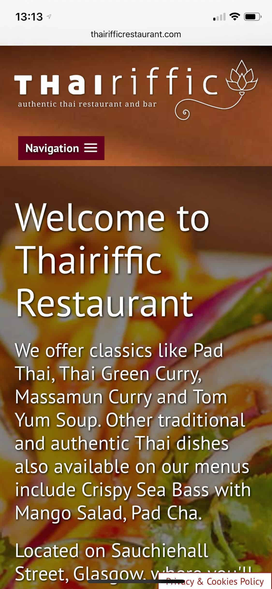 Thairifffic mobile