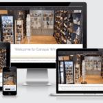 Canape Wine's website