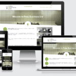 Freel Electrical website